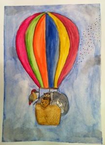 Hot air balloon Craft stories